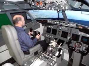 Volando en el Boeing737NG